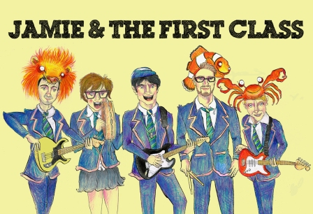 Jamie & The First Class party band
