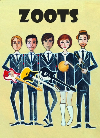 The Zoots wedding & part band