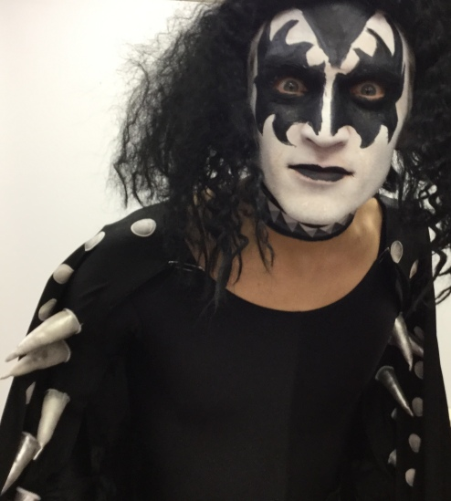 Gene simmons in the UK, Gene simmons tribute, 70s glam rock band, glam rock band, glam band, 70s tribute band in WIltshire, 70s tribute band in SOuth West, Transvestite band, band for 40th wedding, band for 40th, kiss tribute band, bowie tribute, kiss costumes, band in make up, band for Cricklade House, band for 50th birthday party, drag rock band