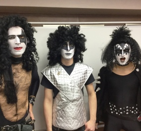 70s glam rock band, glam rock band, glam band, 70s tribute band in WIltshire, 70s tribute band in SOuth West, Transvestite band, band for 40th wedding, band for 40th, kiss tribute band, bowie tribute, kiss costumes, band in make up, band for Cricklade House, band for 50th birthday party, drag rock band