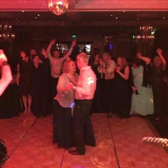 Gina and Graham dancing at cricklade House