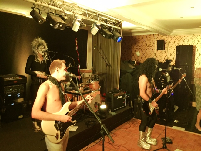 70s glam rock band, glam rock band, glam band, 70s tribute band in WIltshire, 70s tribute band in SOuth West, Transvestite band, band for 40th wedding, band for 40th, kiss tribute band